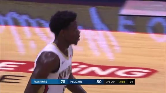 Jrue Holiday with 34 points vs Warriors