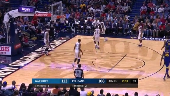 DeMarcus Cousins with 19 points and 5 steals