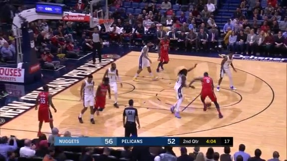 DeMarcus Cousins takes it from the top