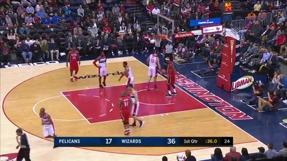 DeMarcus Cousins with 11 Points in the 1st Quarter