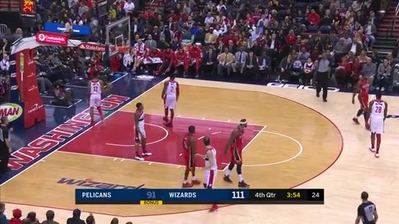 Anthony Davis with 11 Points in the 4th Quarter