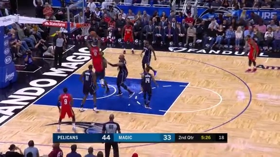 Boogie takes over in the paint