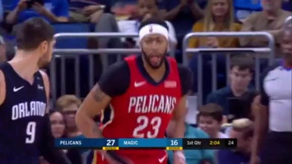 Anthony Davis puts up 20 points and 11 rebounds