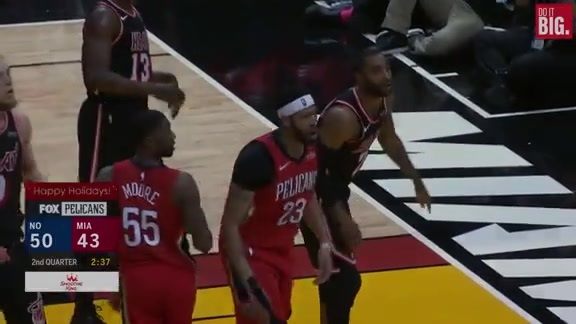 Anthony Davis keeps the block party going