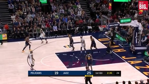 Jrue scores 10 in the 1st
