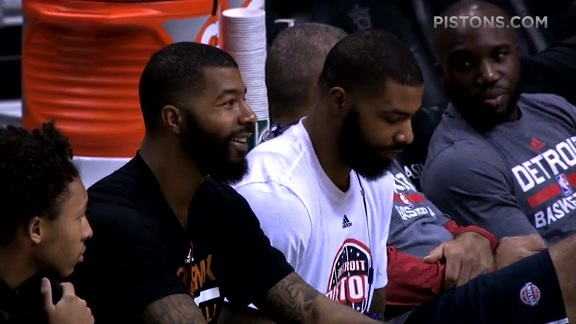 Players Lounge, presented by Fox Sports Detroit: Marcus Morris