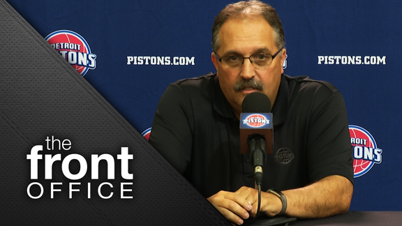Front Office: SVG Speaks at Media Day