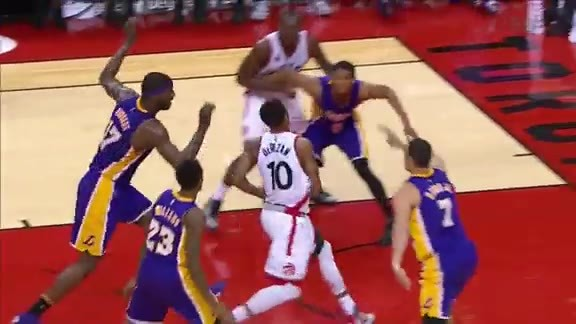Raptors Highlights: DeRozan's Throwdown - December 7, 2015