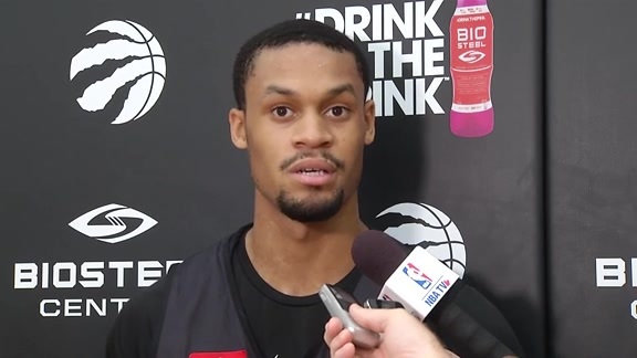 Raptors Practice: K. J. McDaniels - October 9, 2017