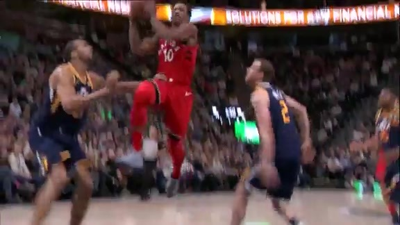 Raptors Highlights: Lowry Finds DeRozan - November 3, 2017