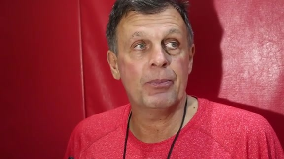 Kevin McHale: Post Practice 10/29/15