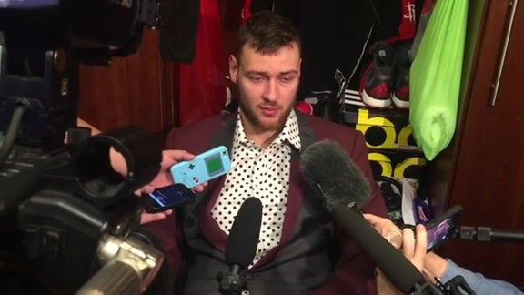 Donatas Motiejunas: Post Game 04-24-16