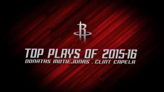 2016 Top Plays - Motiejunas and Capela