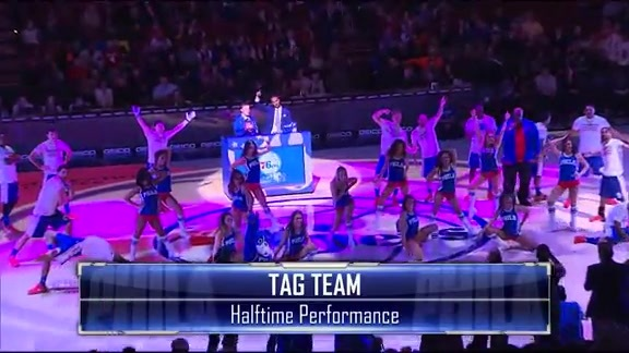 Tag Team Halftime Show | vs. Golden State Warriors (1/30)