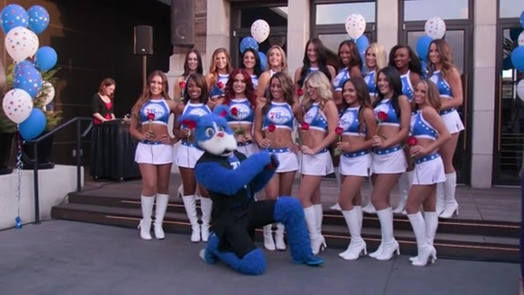 2016-2017 Sixers Dance Team Unveil Recap