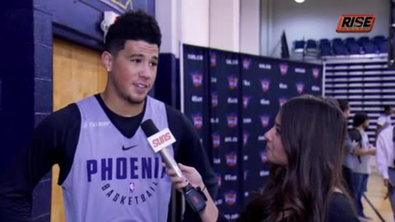 Training Camp: One-on-One with Devin Booker