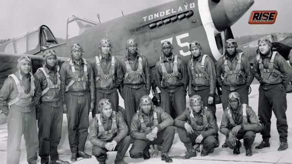 Tuskegee Airmen Visit with Suns