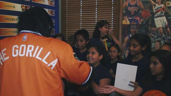 Students Receive Sneak Peek at Suns At 50 History Exhibit