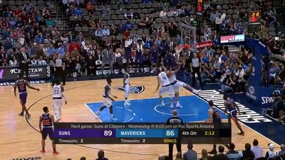 Alex Len Posterizes Two Mavs with Clutch Dunk