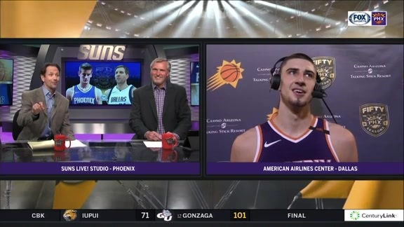 Alex Len Talks w/ Tom & Tom After #SunsAtMavs