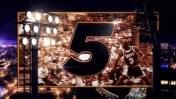 Tom Chambers' Top 5 From #SunsAtMavs