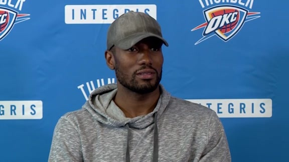 Media Availability: Serge Ibaka