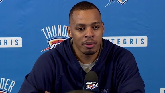 Media Availability: Randy Foye