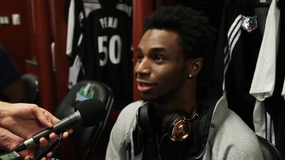 Postgame - Oct. 7 | Andrew Wiggins