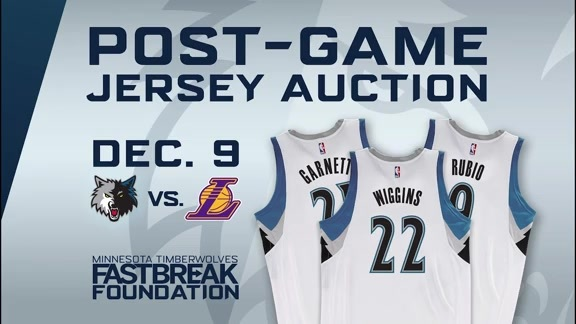 Don't Miss Out On Tonight's Jersey Auction