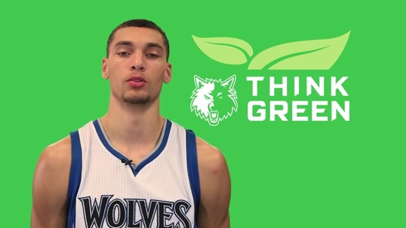 Tips to Think Green with Zach LaVine