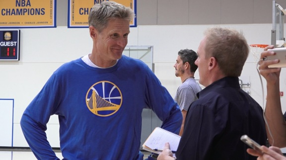 Warriors Open Training Camp with New Energy