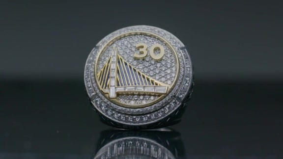 The Story of the Warriors 2015 Championship Rings