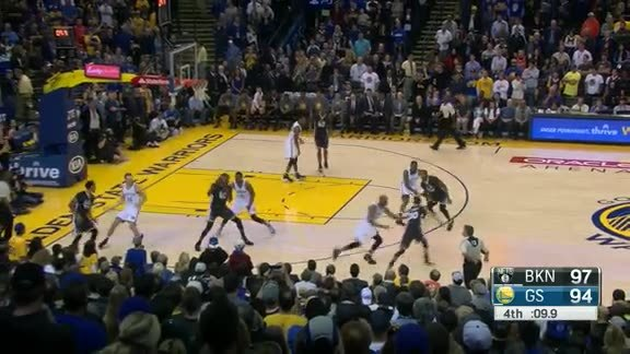 Andre Iguodala Hits the Clutch 3-Pointer
