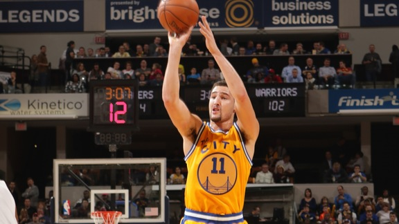 Warriors Beat Pacers 131-123