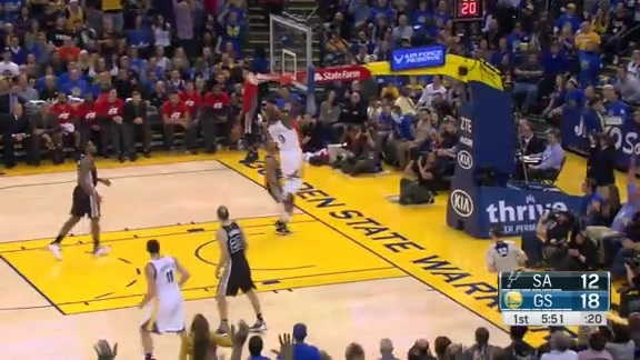 Andre Finishes the Break