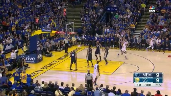 Steph Splashes Six in 1Q