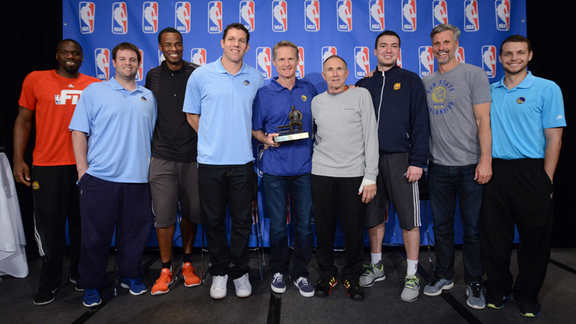 Warriors Stories – Coach of the Year