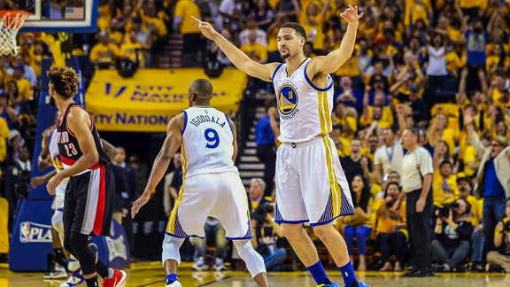 See how the Warriors took Game 1