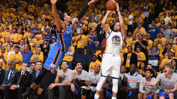 Warriors Advance to NBA Finals, Beat OKC 96-88 in Game 7