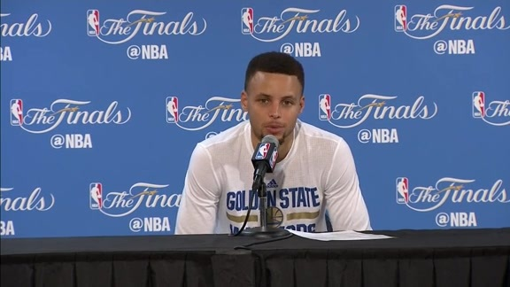 Postgame Warriors Talk: Stephen Curry 6.19.16