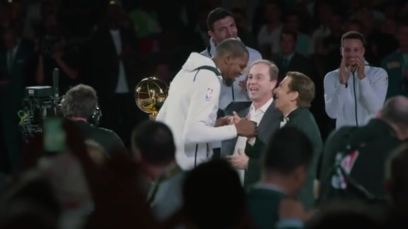 Warriors Mini-Movie: 2017 Championship Ring Ceremony and Banner Unveiling