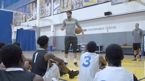 Oracle Community Basketball Clinic Featuring Omri Casspi