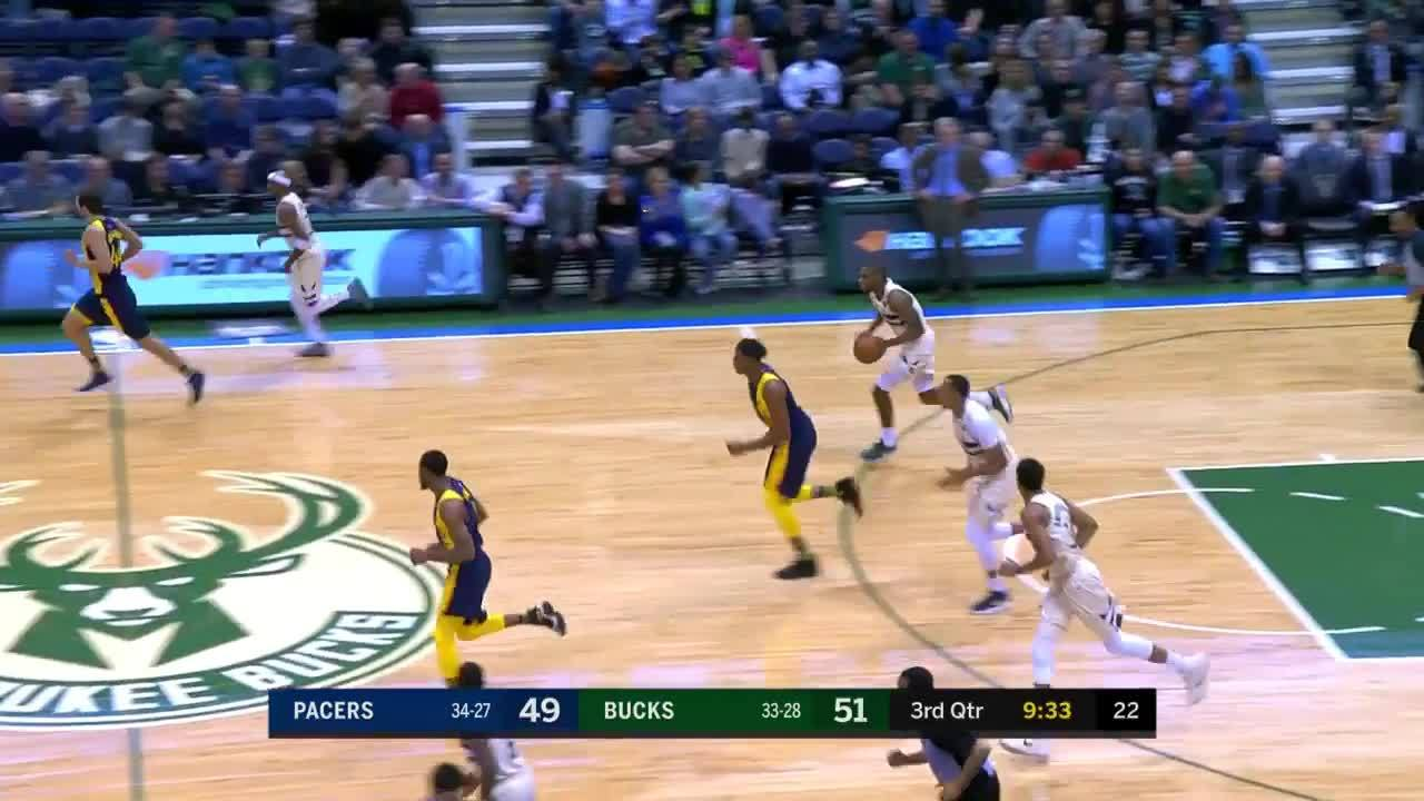 Oladipo Blocks Middleton