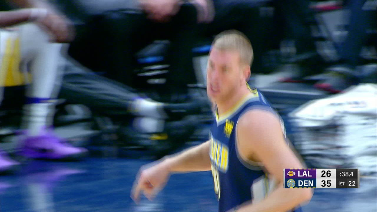 Plumlee Gets The Rejection Twice