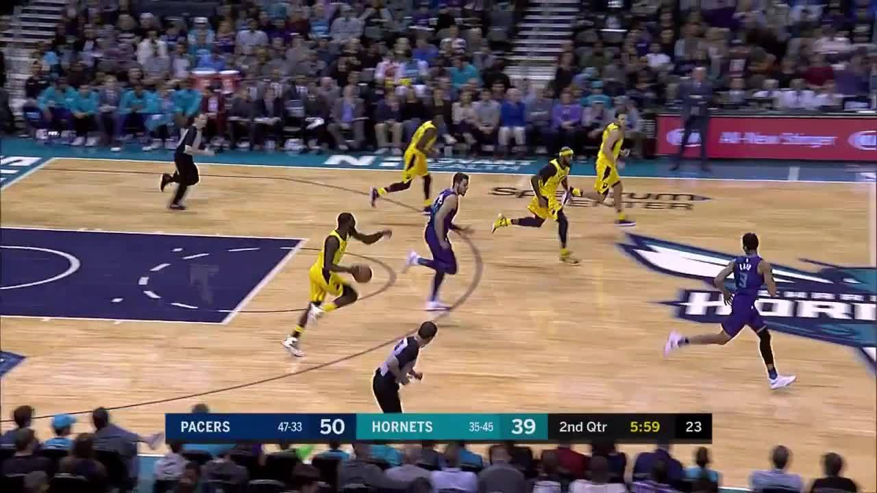 Lance Dishes Behind His Back