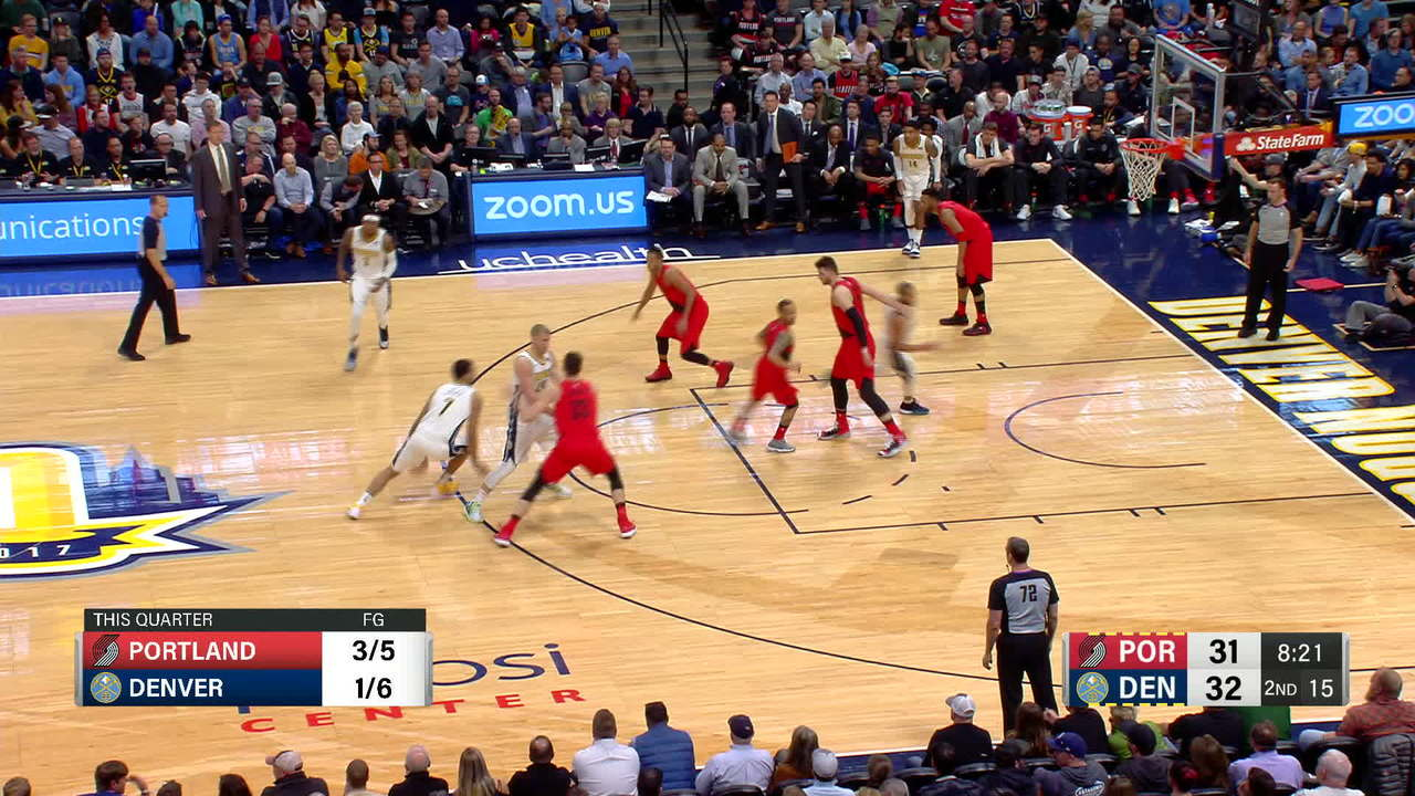 McCollum Steals And Scores