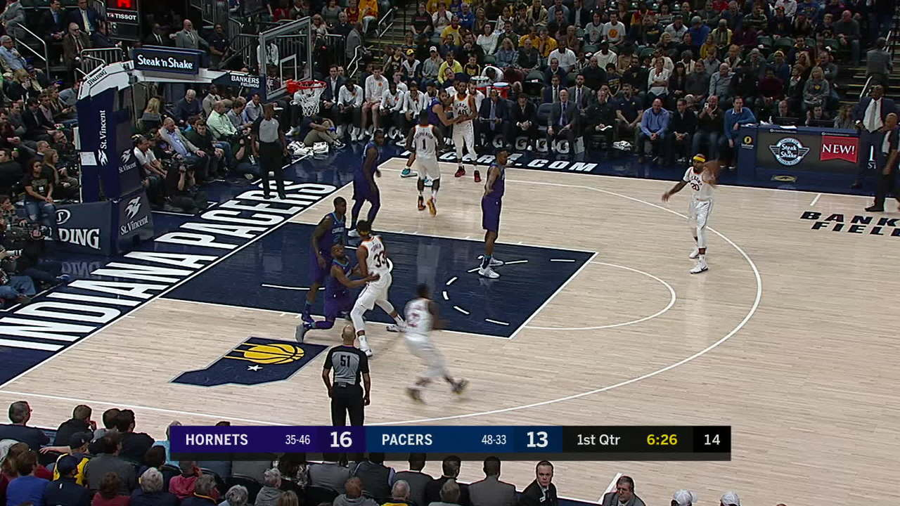 Turner One-Hand Dunk