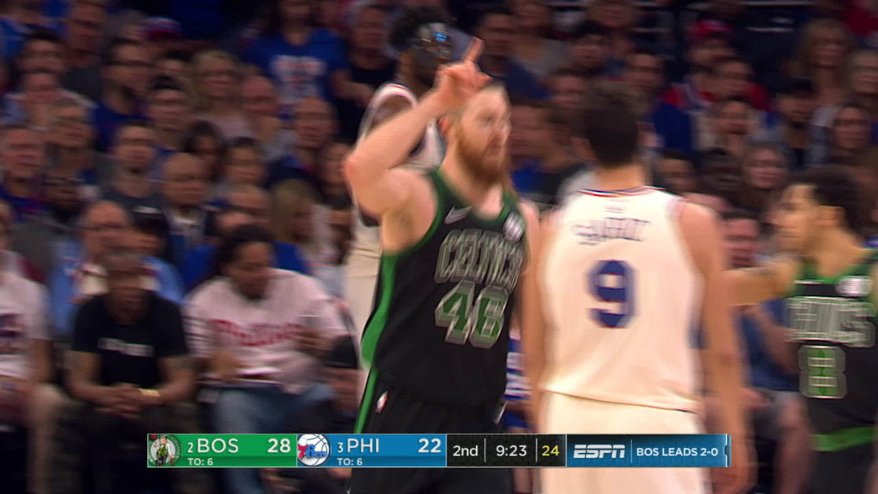 Baynes With The Putback Jam