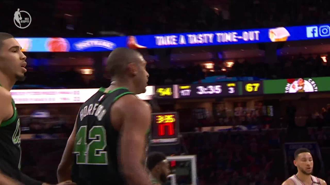 Horford With The Stuff