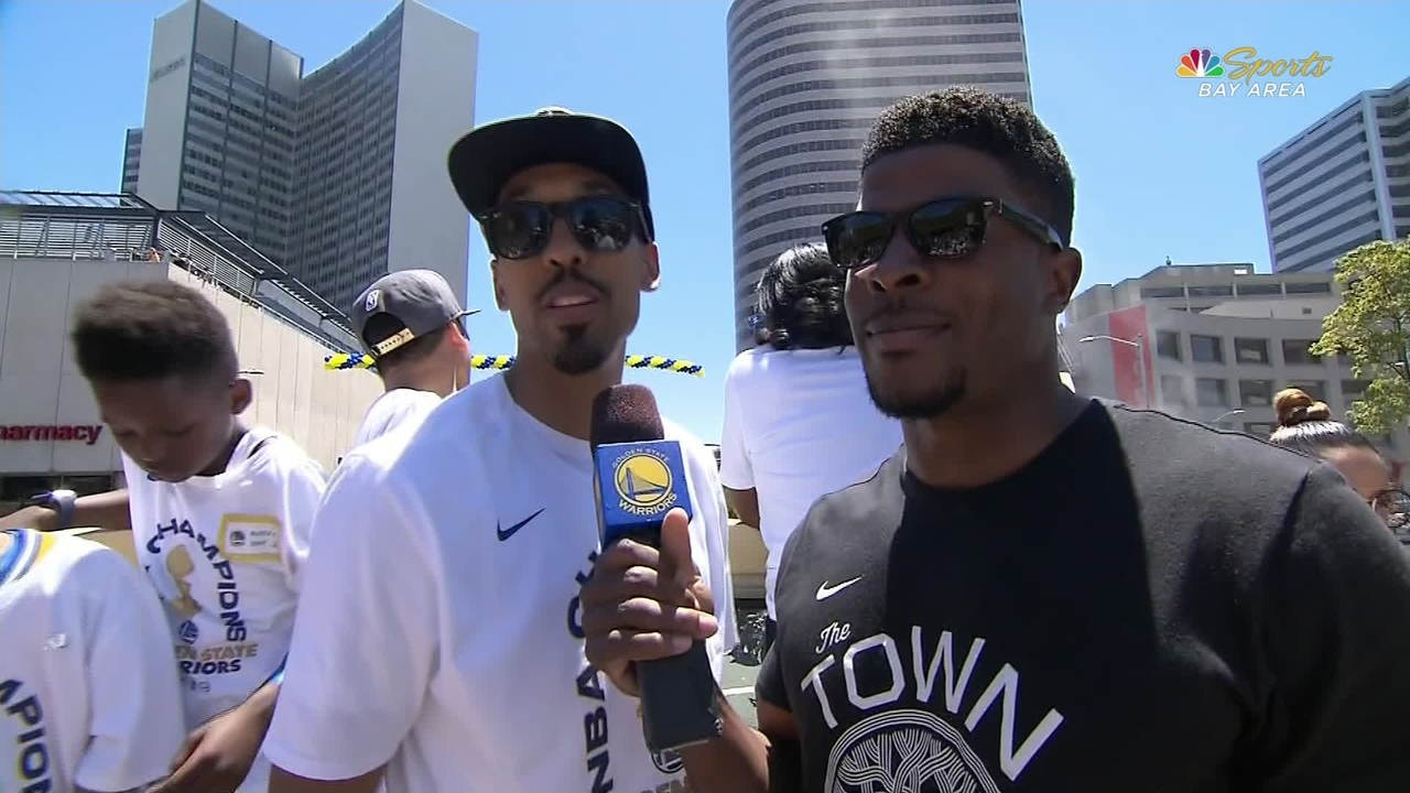 Warriors Parade: Shaun Livingston